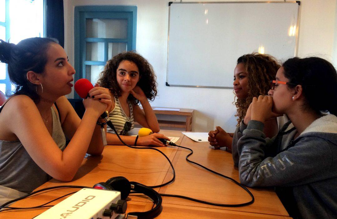 Workshop : des jeunes d'Essaouira ont créé une émission de radio autour du Moga Festival