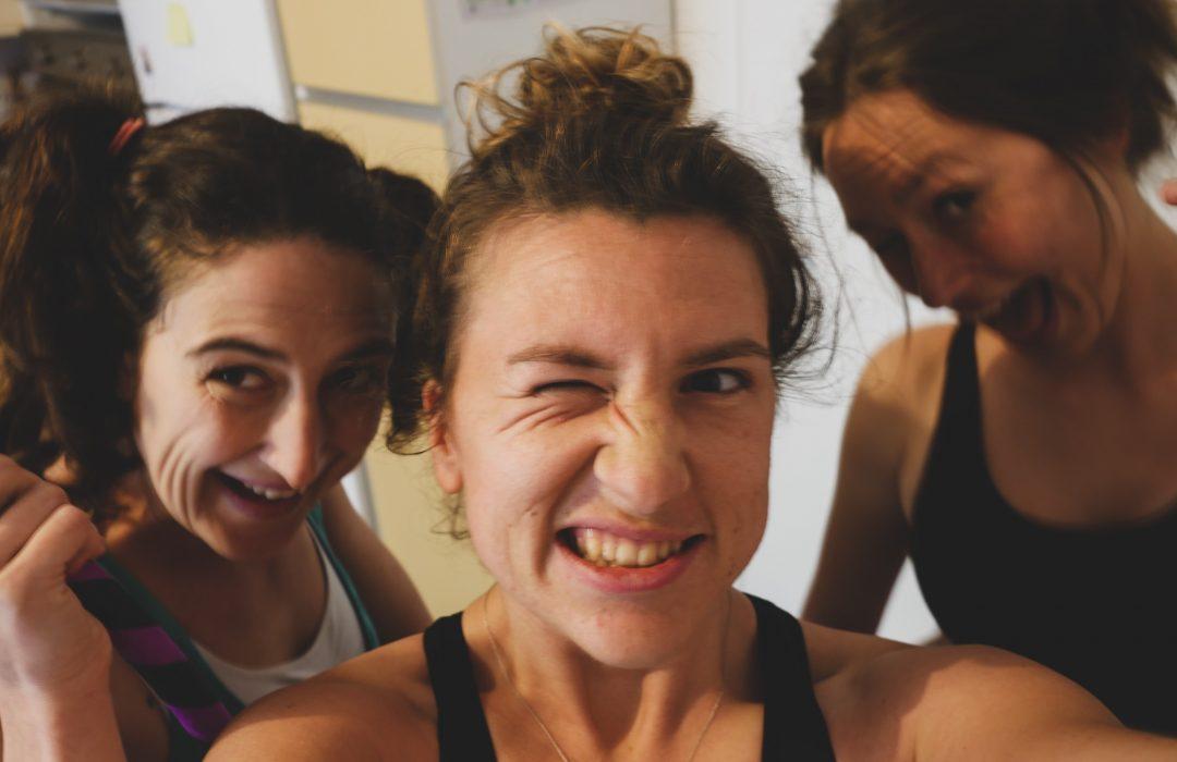 Interlude sportif : trois filles et un confinement